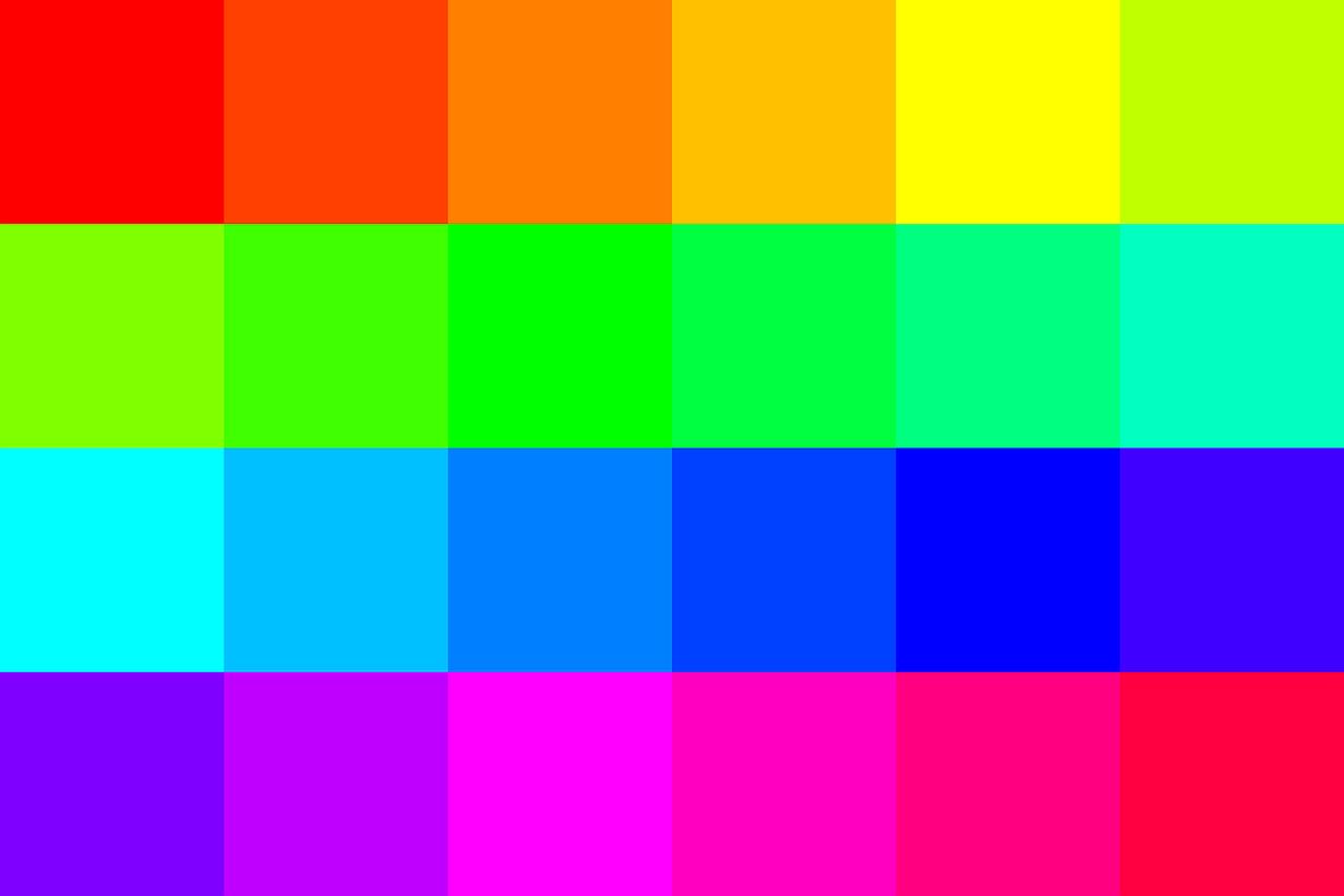 הצבעים של הרשתות החברתיות - למפתחים וגרפיקאים
